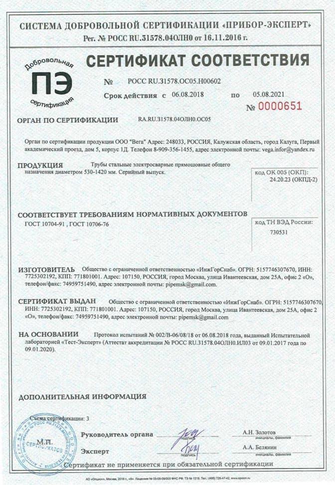 sertif 002 - Сертификаты