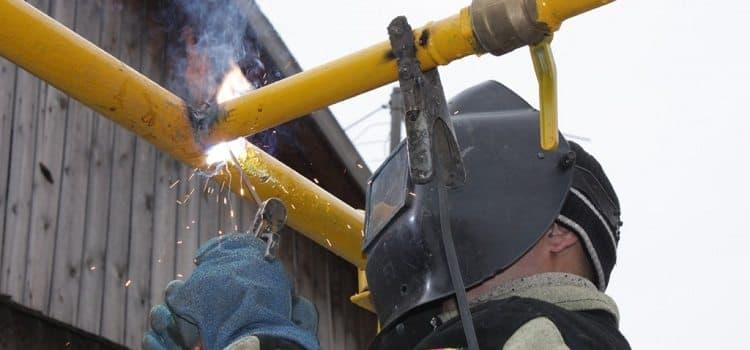 gaz 3 - Монтаж газопровода